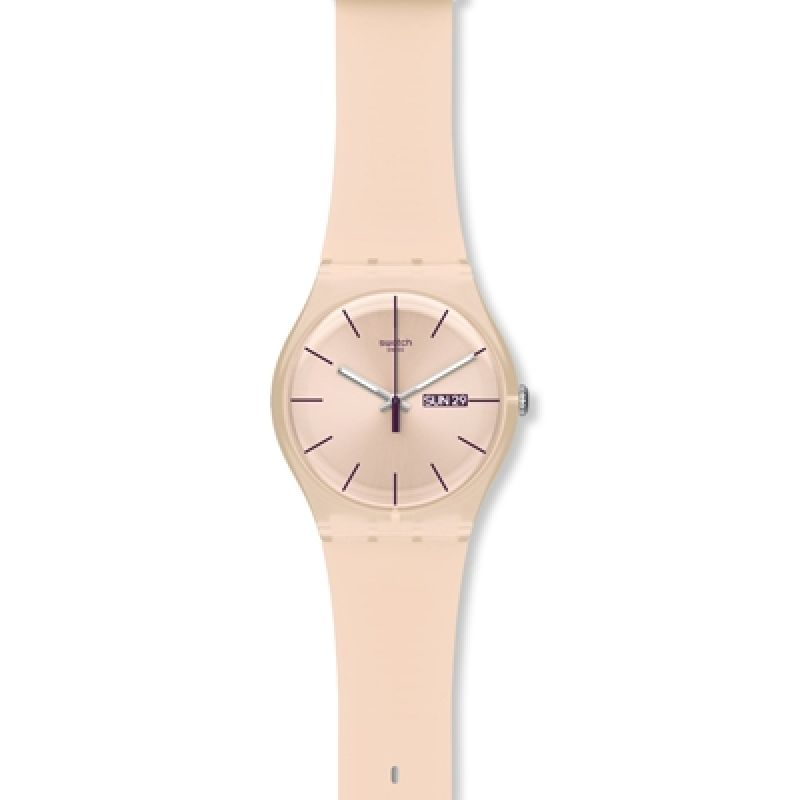 Unisex Swatch Rose Rebel Watch SUOT700