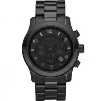 Mens Michael Kors Runway Chronograph Watch