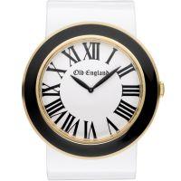 Unisex Old England Schwarz And Weiß Uhr