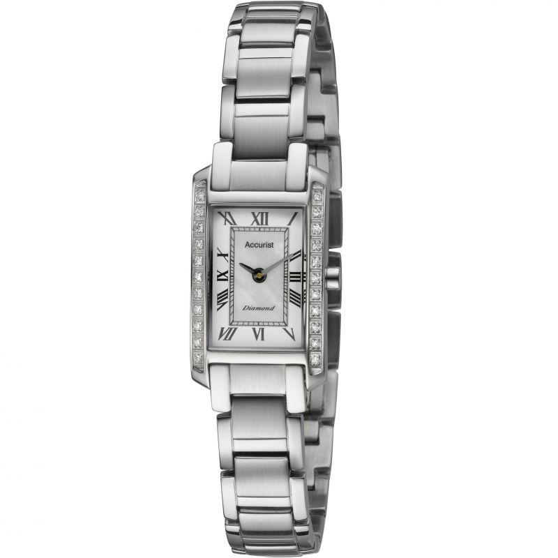 Damen Accurist Pure Precision Diamond Watch LB1590RN