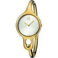 Damen Calvin Klein Air Medium Bangle Watch K1N22526