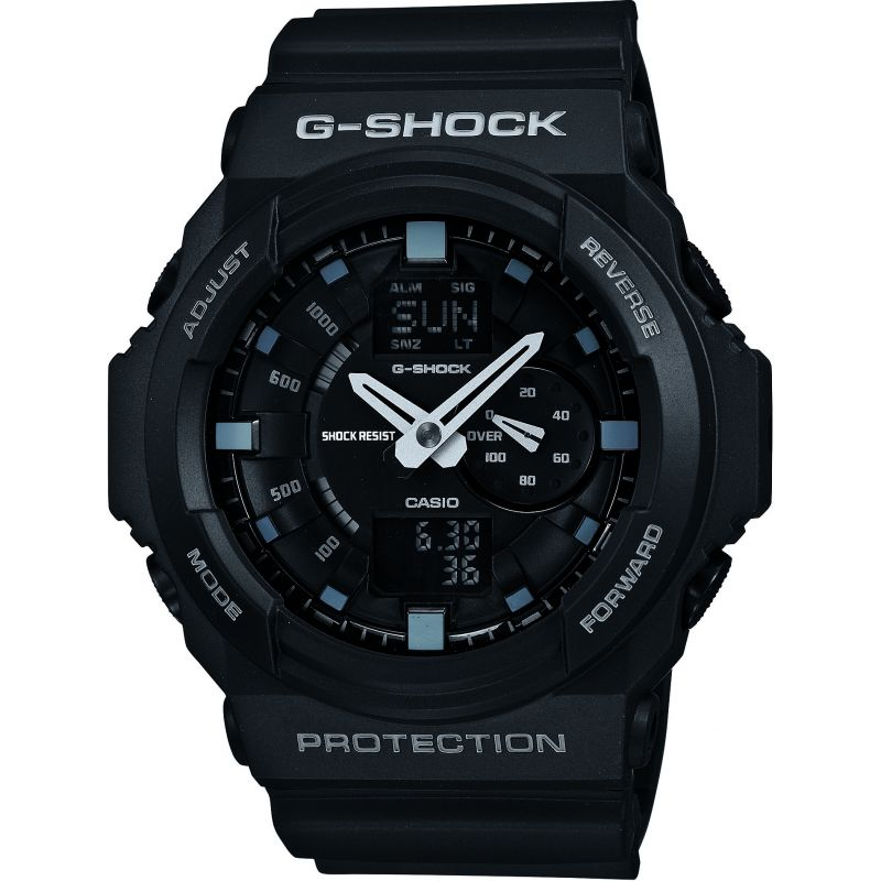 homme Casio G-Shock Alarm Chronograph Watch GA-150-1AER