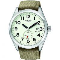 Herren Citizen Eco-Drive Watch BV1080-18A