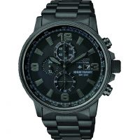 Herren Citizen Nighthawk Chronograf Eco-Drive Uhr