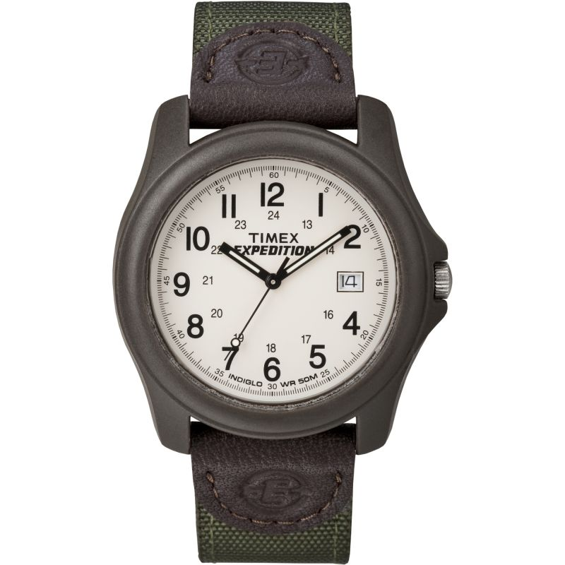 Mens Timex Indiglo Expedition Watch T49101