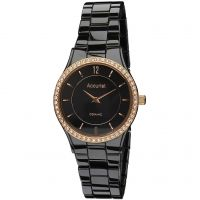 Ladies Accurist Ceramic Watch
