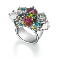 femme Swatch Bijoux Love Explosion Ring Size N Watch JRD022-7