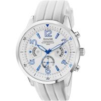 homme Accurist Acctiv Chronograph Watch MS920WW