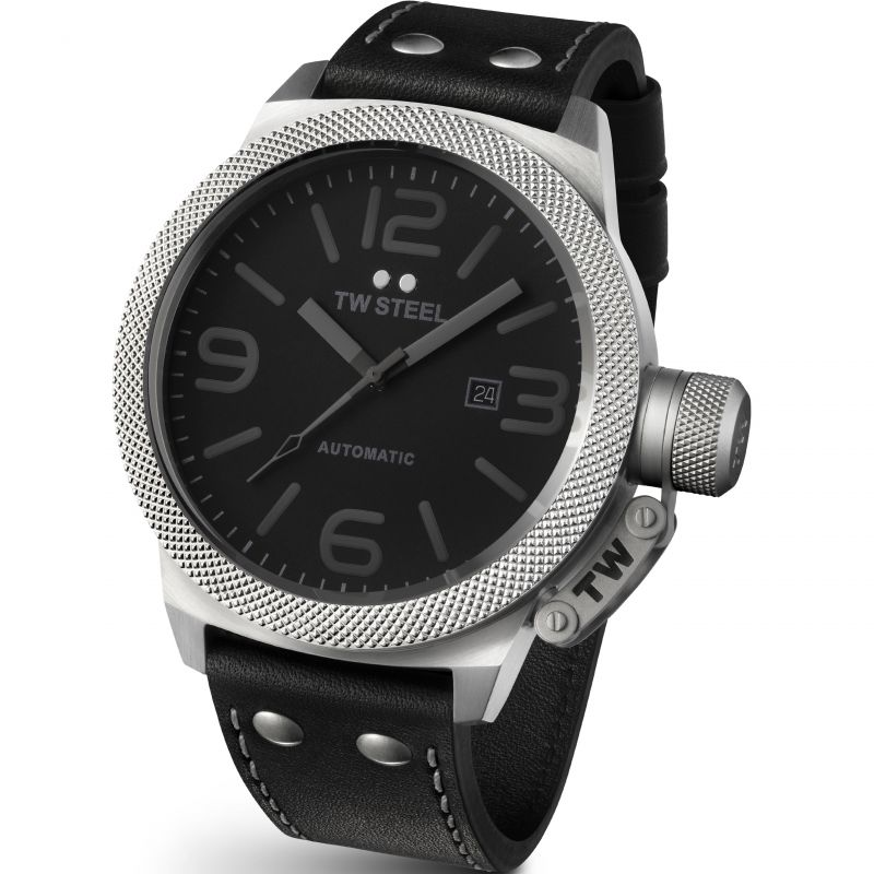 Mens TW Steel Canteen Automatic 50 Automatic 50mm Watch