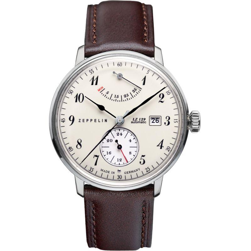 Mens Zeppelin Hindenburg Power Reserve Automatic Watch