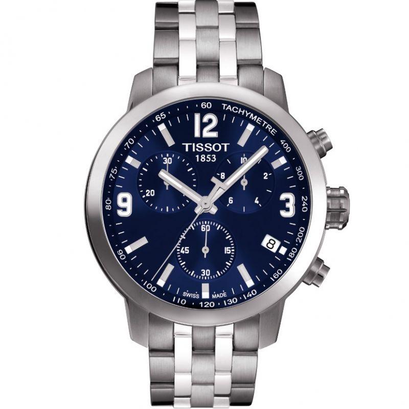 Herren Tissot PRC200 Chronograph Watch T0554171104700