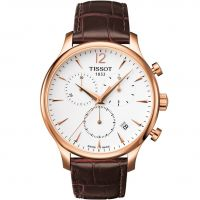Tissot Tradition Herenchronograaf Bruin T0636173603700