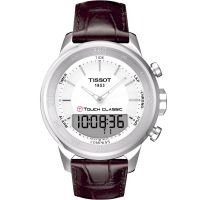 Mens Tissot T-Touch Classic Alarm Chronograph Watch