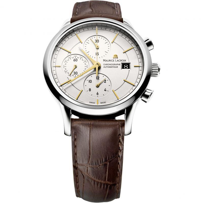 Mens Maurice Lacroix Les Classiques Automatic Chronograph Watch