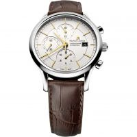 Maurice Lacroix Les Classiques Herenchronograaf Bruin LC6058-SS001-131-1