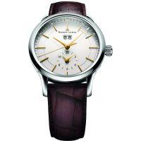 Herren Maurice Lacroix Les Classiques Grande Datum GMT Automatik Uhr