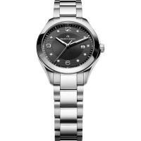 Damen Maurice Lacroix Miros Date Diamond Watch MI1014-SS002-350-1