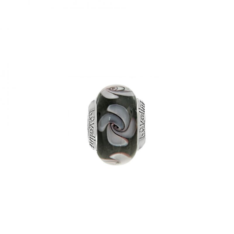 Ladies Lovelinks Sterling Silver Fancy Glass Link 11821111-99