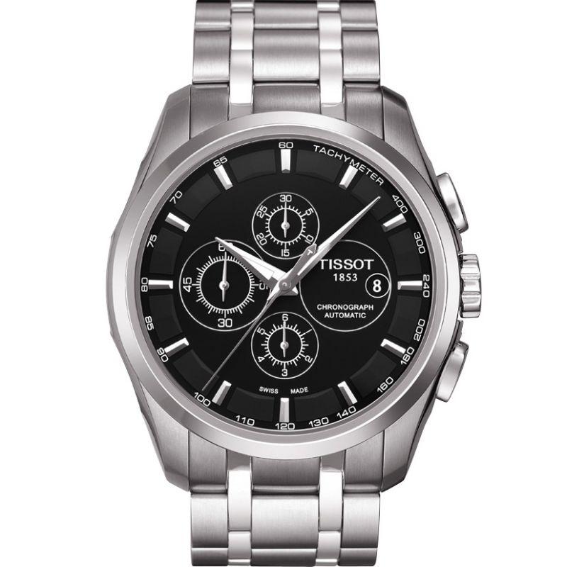 Mens Tissot Couturier Automatic Chronograph Watch