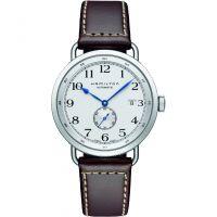 Herren Hamilton Khaki Navy Pioneer Automatik Uhr