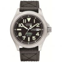 Hommes Citizen Royal Marins Commando Super Tough Titane Eco-Drive Montre