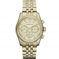 Damen Michael Kors Lexington Chronograph Watch MK5556