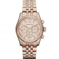 Damen Michael Kors Lexington Chronograf Uhr