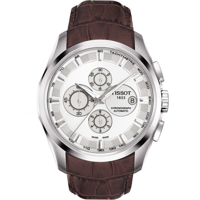 homme Tissot Couturier Chronograph Watch T0356271603100