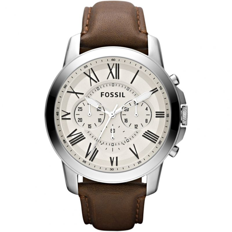 Mens Fossil Grant Chronograph Watch FS4735