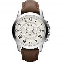 homme Fossil Grant Chronograph Watch FS4735