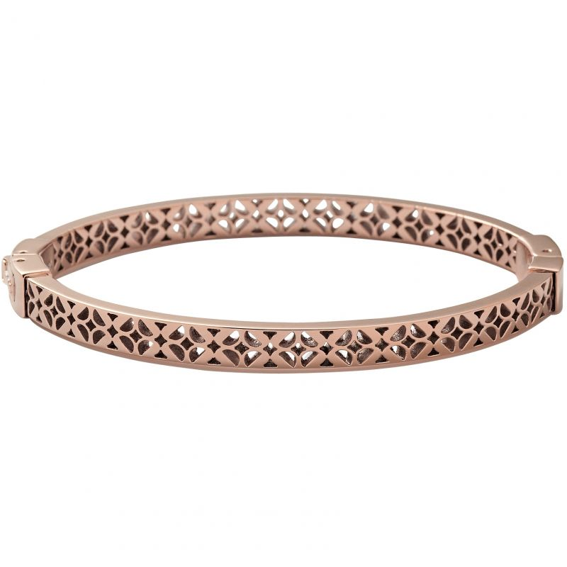 Ladies Fossil PVD rose plating Bangle JF00099791