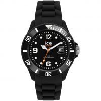Unisex Ice-Watch Sili - black big Uhren