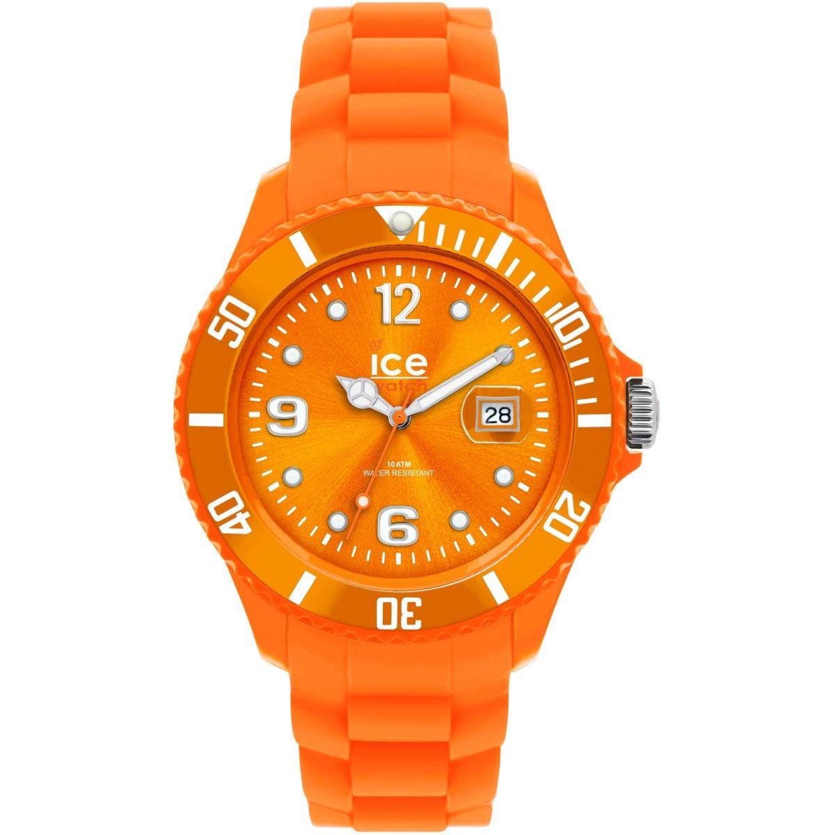 unisexe ice watch sili orange big montre si oe b. Black Bedroom Furniture Sets. Home Design Ideas
