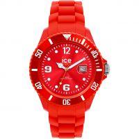 Unisexe Ice-Watch Sili - red big Montre