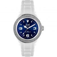 femme Ice-Watch Ice-Blue Stones - white/blue unisex Watch IB.ST.WBE.U.S.12