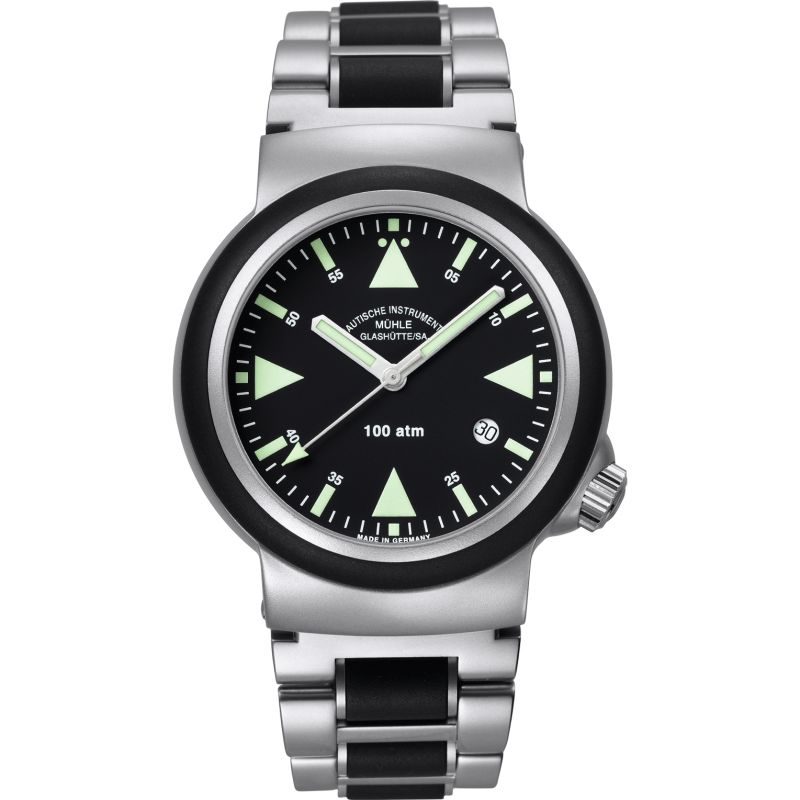 Mens Muhle Glashutte SAR Rescue Timer Automatic Watch