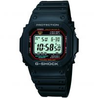 homme Casio G-Shock Alarm Chronograph Radio Controlled Tough Solar Watch GW-M5610-1ER