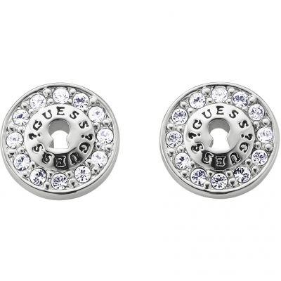 Femmes Guess Rhodium Plated Boucles d'oreilles