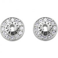 Ladies Guess Rhodium Plated Earrings UBE71206