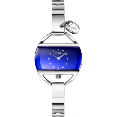 Ladies STORM Temptress Charm Lazer Blue Watch 47013/B
