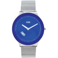 Mens STORM Sotec Lazer Blue Watch 47075/B