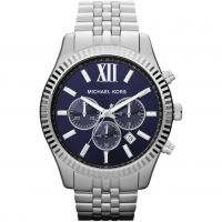 Michael Kors Lexington Herenchronograaf Zilver MK8280