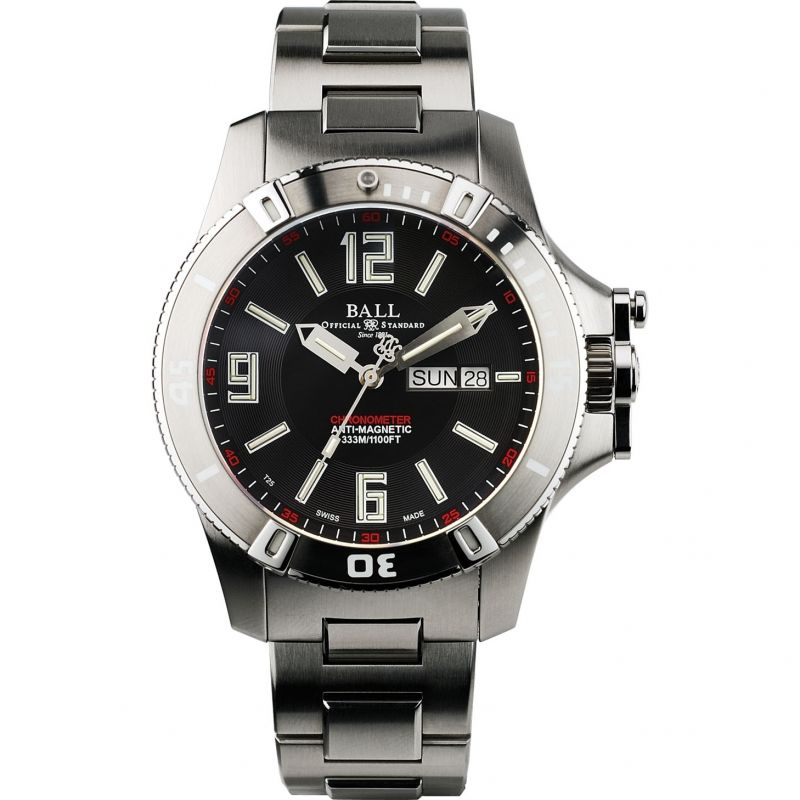 Mens Ball Engineer Hydrocarbon Spacemaster Chronometer Automatic Watch