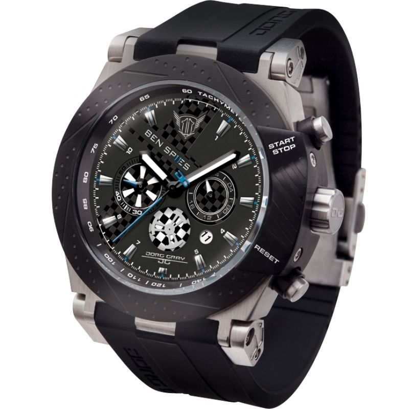 Mens Jorg Gray Ben Spies Limited Edition Chronograph Watch