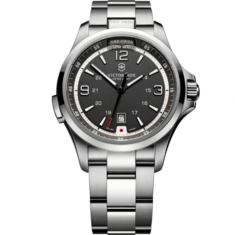 Mens Victorinox Swiss Army Night Vision Watch
