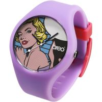 Unisex Breo Classic Marilyn Purple Watch