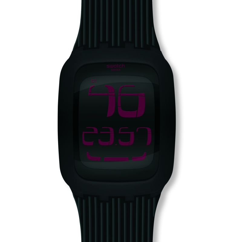 Mens Swatch Touch Alarm Watch SURB102