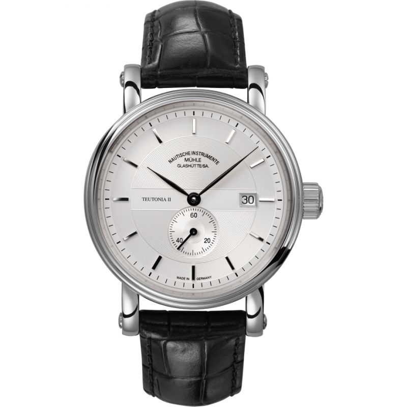 Mens Muhle Glashutte Teutonia II Kleine Sekunde Automatic Watch