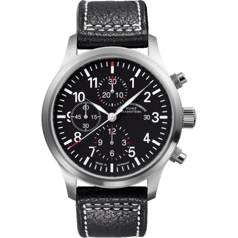 Mens Muhle Glashutte Terrasport I Chronograph Automatic Chronograph Watch