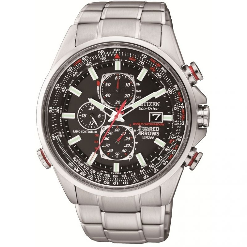 Zegarek męski Citizen Red Arrows A-T AT8060-50E